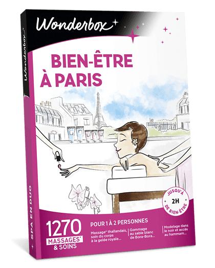 Wonderbox Coffret cadeau Bien-Être à Paris - Wonderbox