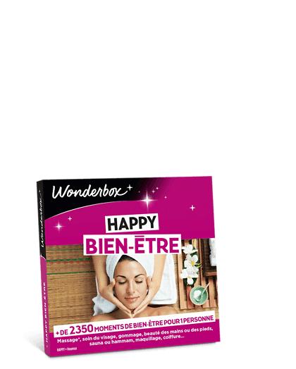Wonderbox Coffret cadeau Happy Bien-Être - Wonderbox