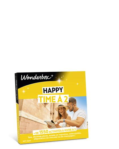 Wonderbox Coffret cadeau Happy Time à 2 - Wonderbox