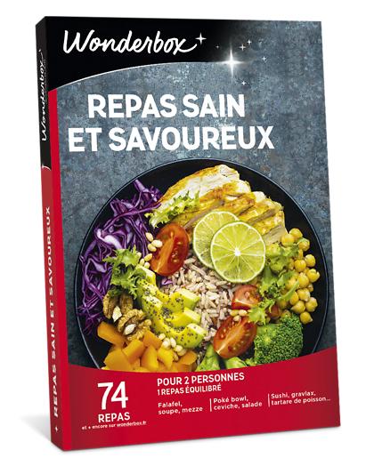 wonderbox coffret cadeau repas sain et savoureux - wonderbox