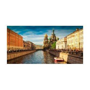Russie: St Pétersbourg - Publicité
