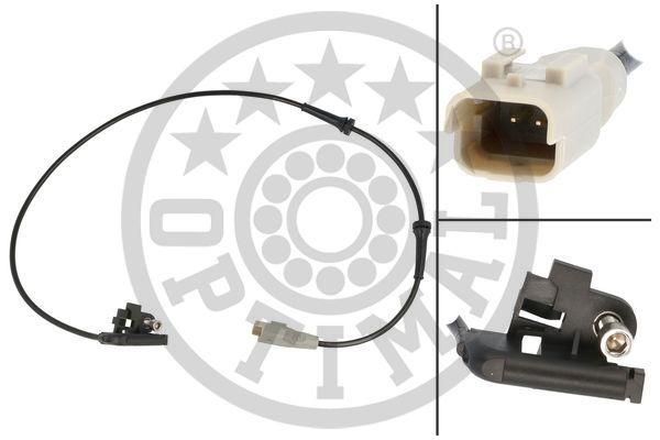 OPTIMAL Sensor ABS PEUGEOT,CITROËN,DS 06-S734 454508,4545L0,454508 Capteur De Roue ABS,Capteur ABS 4545L0