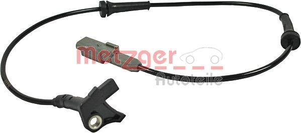 METZGER Sensor ABS PEUGEOT,CITROËN,DS 0900207 Capteur De Roue ABS,Capteur ABS
