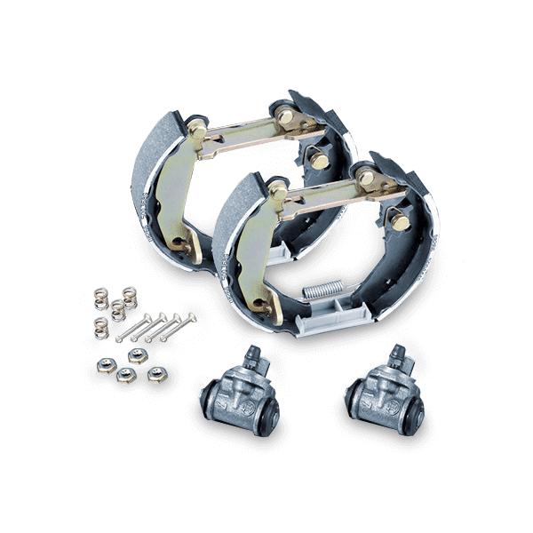 FERODO Kit de freins, freins à tambours MERCEDES-BENZ,RENAULT,DACIA FMK607 4154200320,6001549703,6001549704 7701210108,6001549705,7701210108