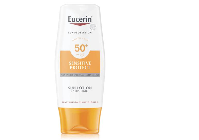 BEIERSDORF SPA Eucerin Sun Lotion Extra Light Ultra Light Sunscreen FP 50 150ml