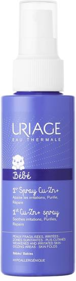 URIAGE LABORATOIRES DERMATOLOG Uriage Cu-Zn + spray anti-irritations 100ml