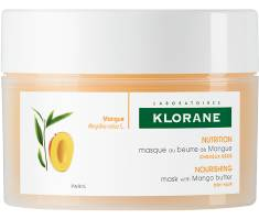 KLORANE (Pierre Fabre It. SpA) Klorane Masque de mangue Beurre Nourrissant et reparation de 150ml