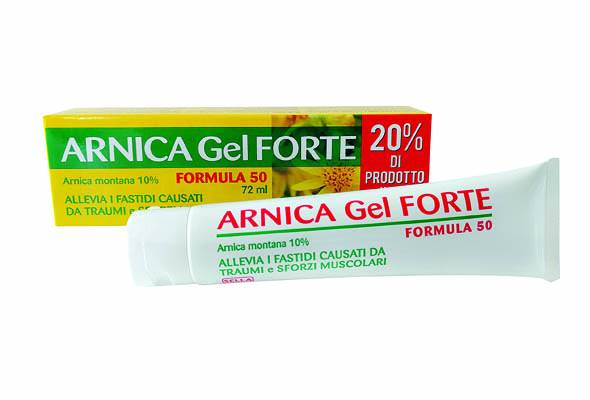 SELLA Srl Arnica 10% Gel Forte formule 50 72 ml