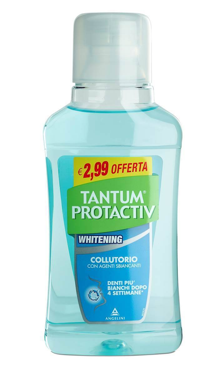 angelini spa tantum protactiv blanchiment des dents mouthwash plus bianchi 250ml