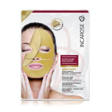 di-va srl masque jetable de masque d'or d'incarose epe avec le collagene 25ml