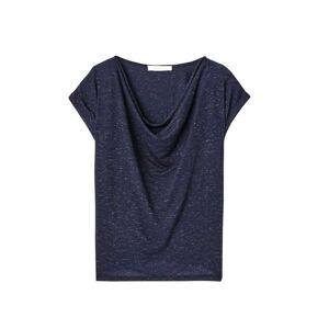 Promod T-shirt encolure béniter Femme Marine - taille: S,M,L,XS - Publicité