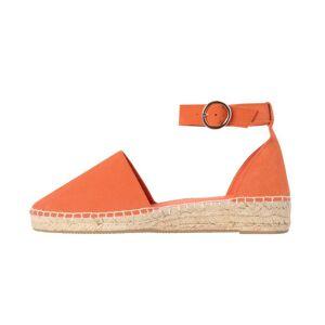 Promod Sandales espadrilles en cuir - Brique - 37  - Promod -  Vêtements &  MODE Femme - Publicité