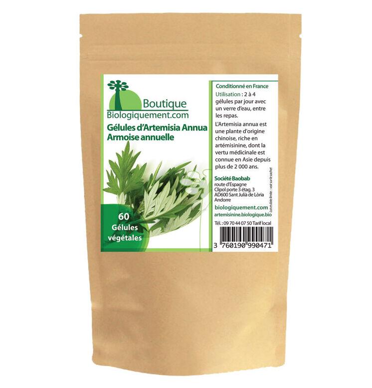 Gélules Artemisia annua Armoise annuelle