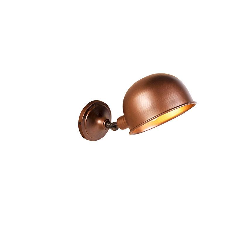 QAZQA Applique industrielle cuivre antique - Spey