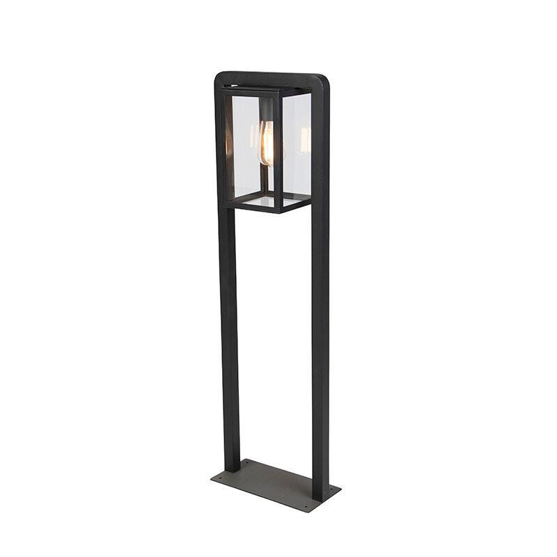 QAZQA Lampe d'extérieur debout contemporaine carrée noire - Jarra Balanco