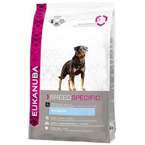 Eukanuba Breed Specific Rottweiler pour chien 2 x 12 kg - Publicité