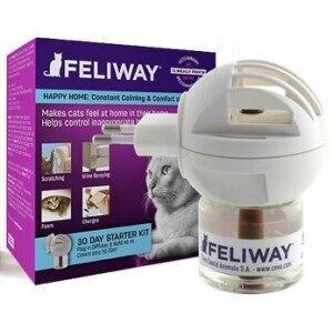 Feliway Diffuseur Ceva pour chat 3 Recharges seules - Publicité
