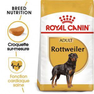 Royal Canin Breed Royal Canin Rottweiler Adult pour chien 2 x 12 kg - Publicité