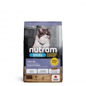 Nutram Ideal Solution Support Indoor Shedding I17 Chat 2 x 5,4 kg - Publicité