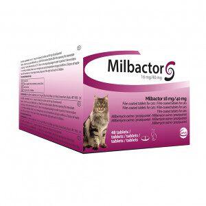 Ceva Milbactor Vermifuge pour chat 48 Comprimés - Publicité