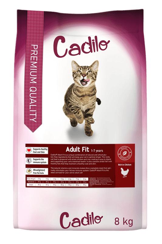 Cadilo Adult Fit pour chat 2 x 8 kg