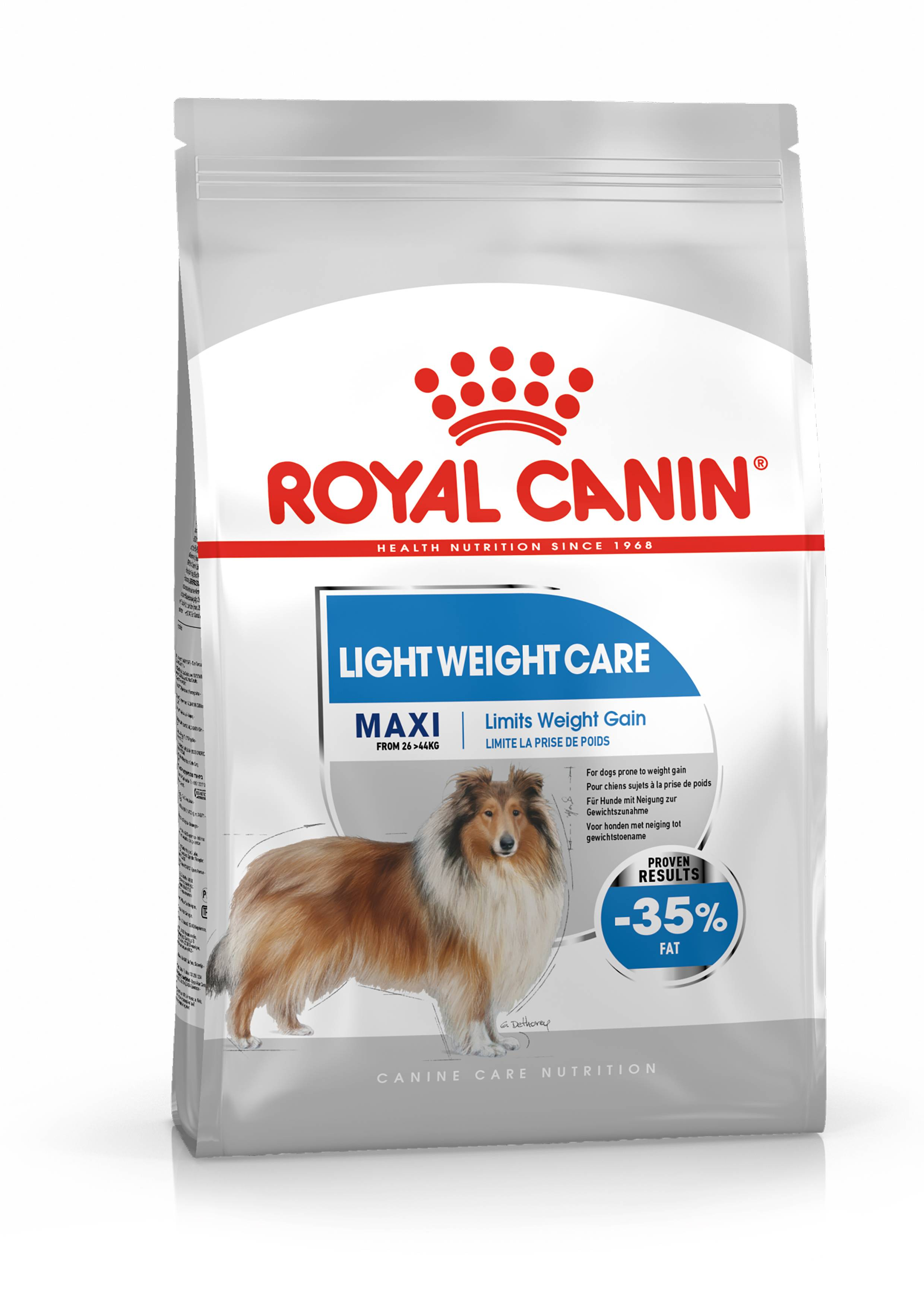 Royal Canin Maxi Light Weight Care pour chien 2 x 10 kg