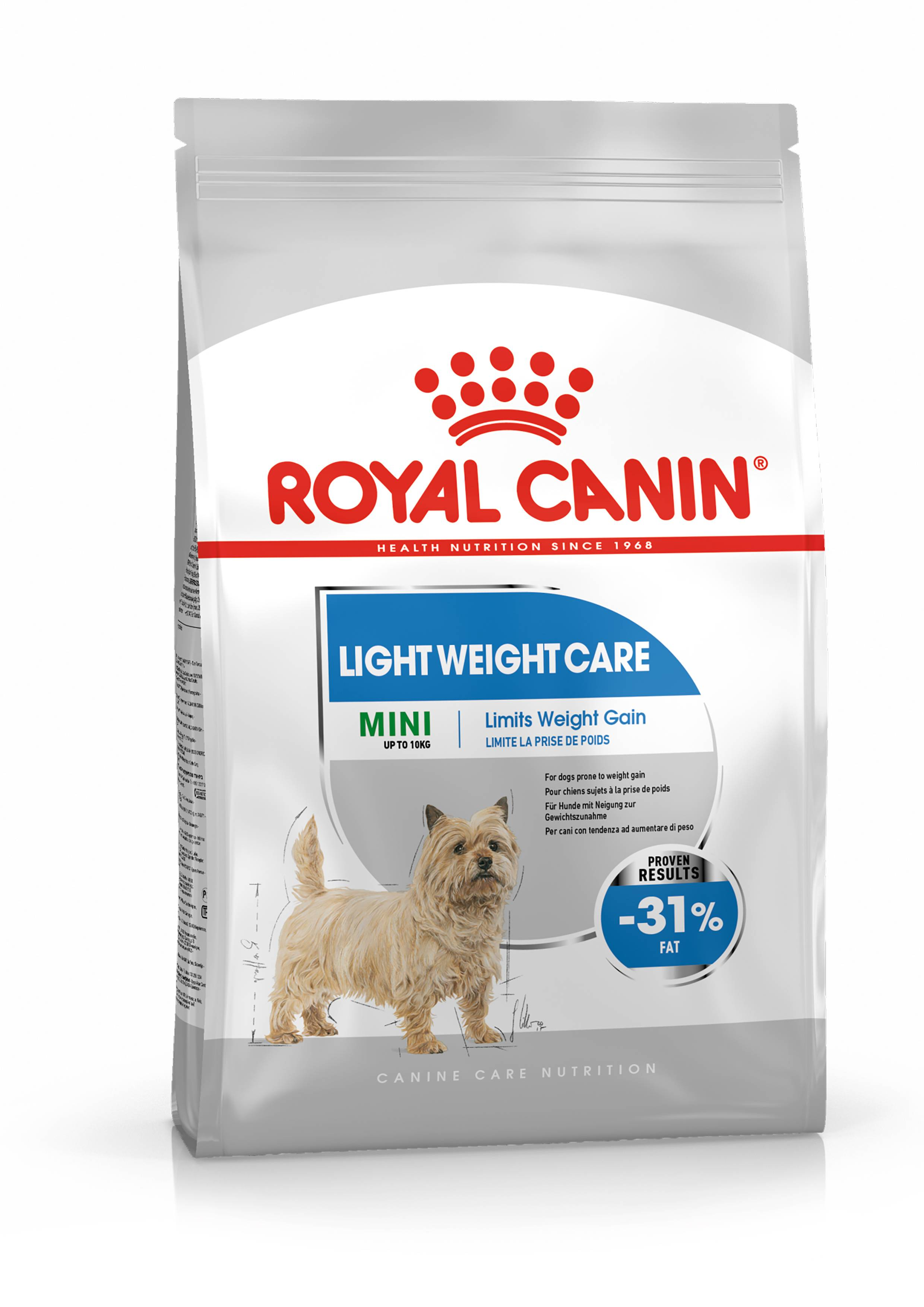 Royal Canin Mini Light Weight Care pour chien 2 x 8 kg
