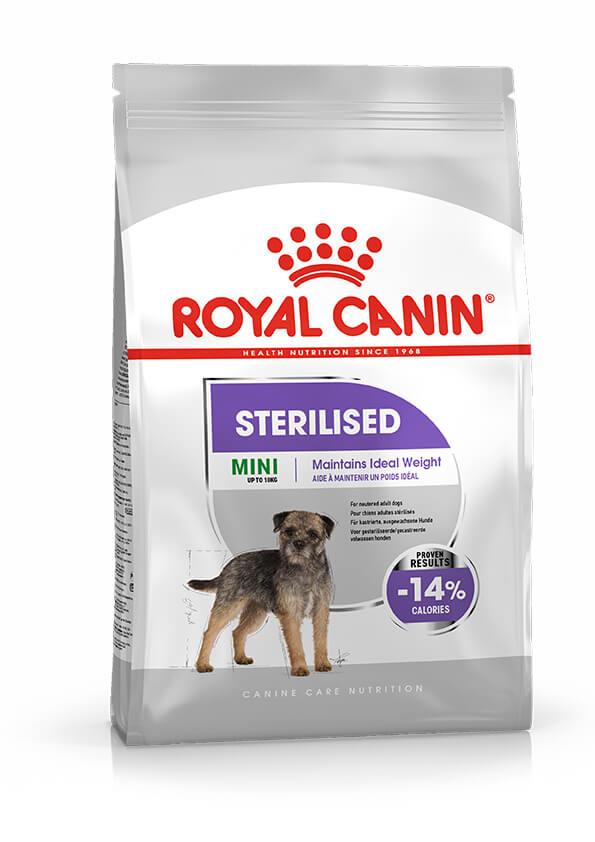 Royal Canin Mini Sterilised pour chien 2 x 8 kg