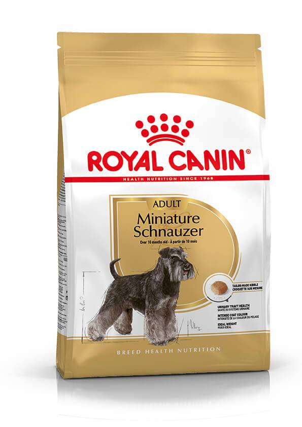 Royal Canin Breed Royal Canin Adult Schnauzer Nain pour chien 7.5 kg