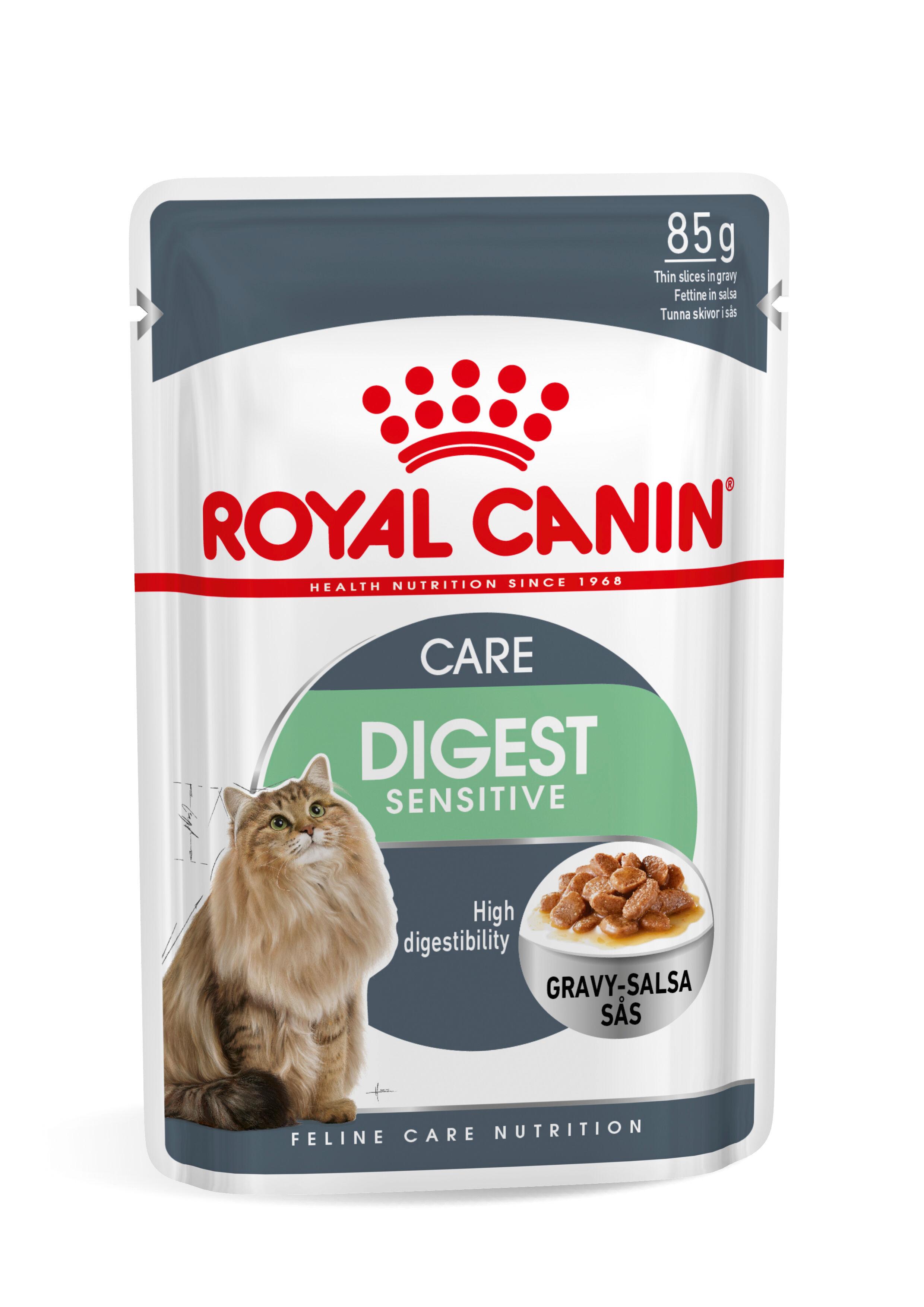 Royal Canin Digest Sensitive pour chat x12 2x En Sauce (24x85 gr)