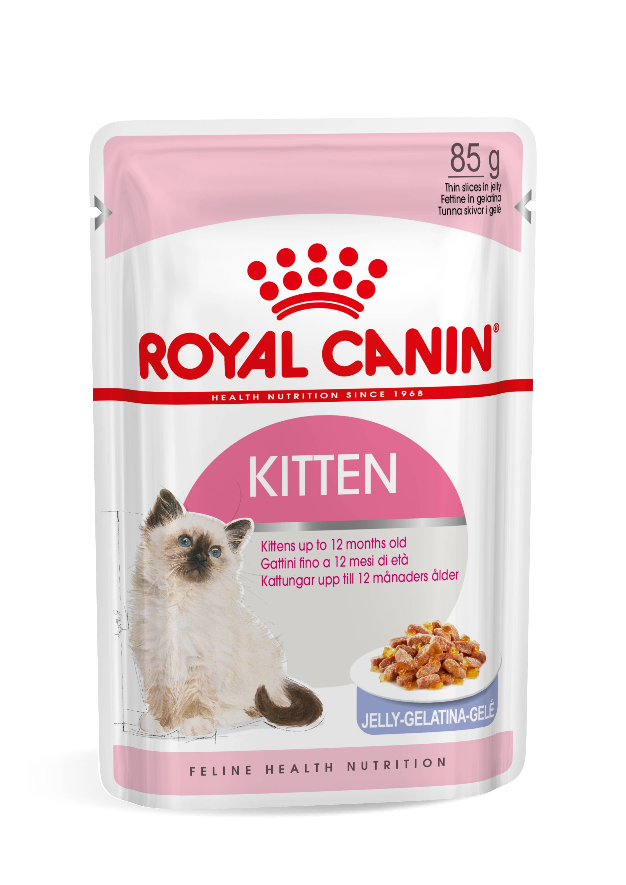 Royal Canin Instinctive pour chaton x12 En Gelée (12x85 gr)