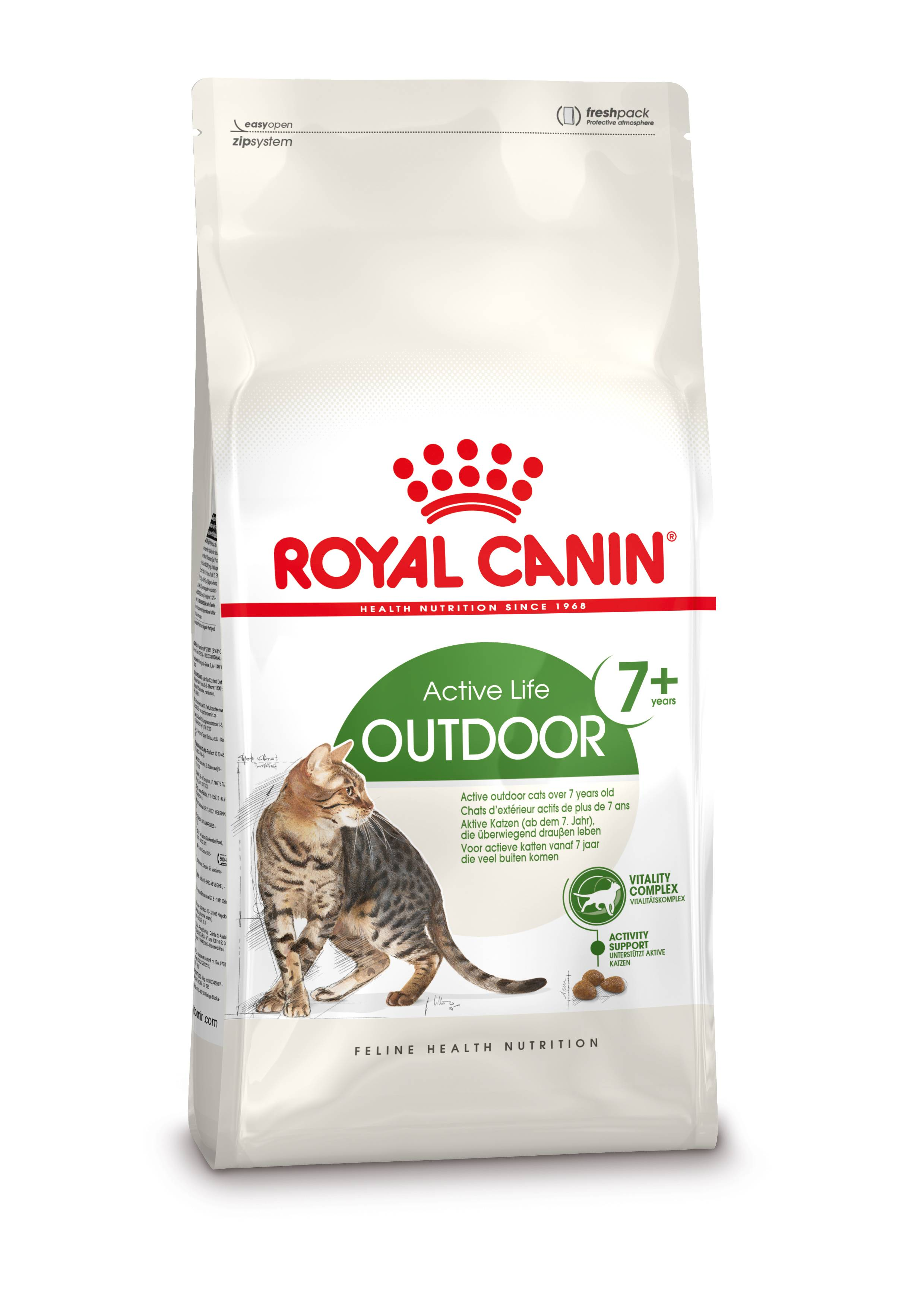 Royal Canin Chat Outdoor 7+ 2 x 10 kg