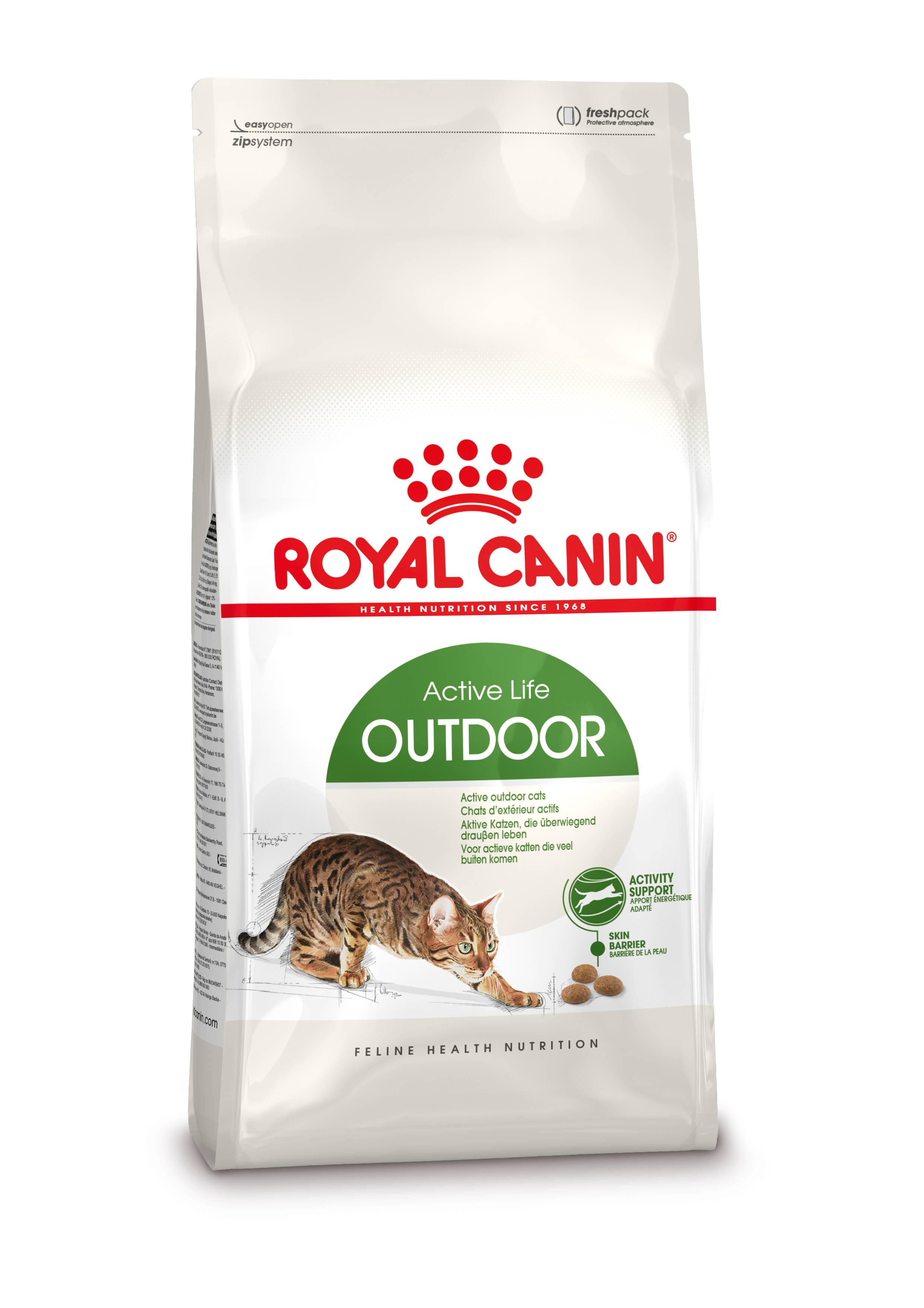 Royal Canin Chat Outdoor 30 2 x 10 kg