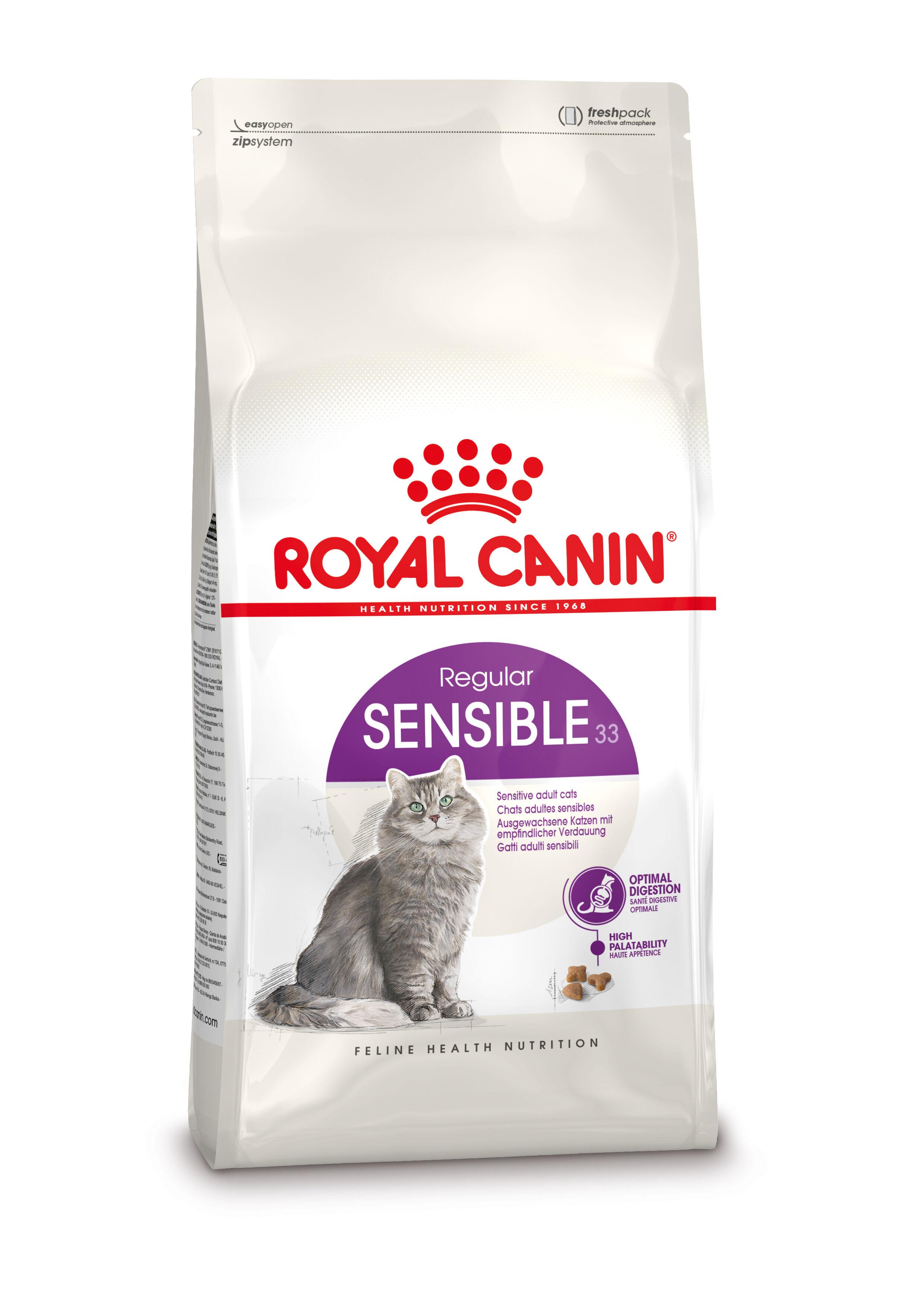 Royal Canin Chat Sensible 33 2 x 10 kg