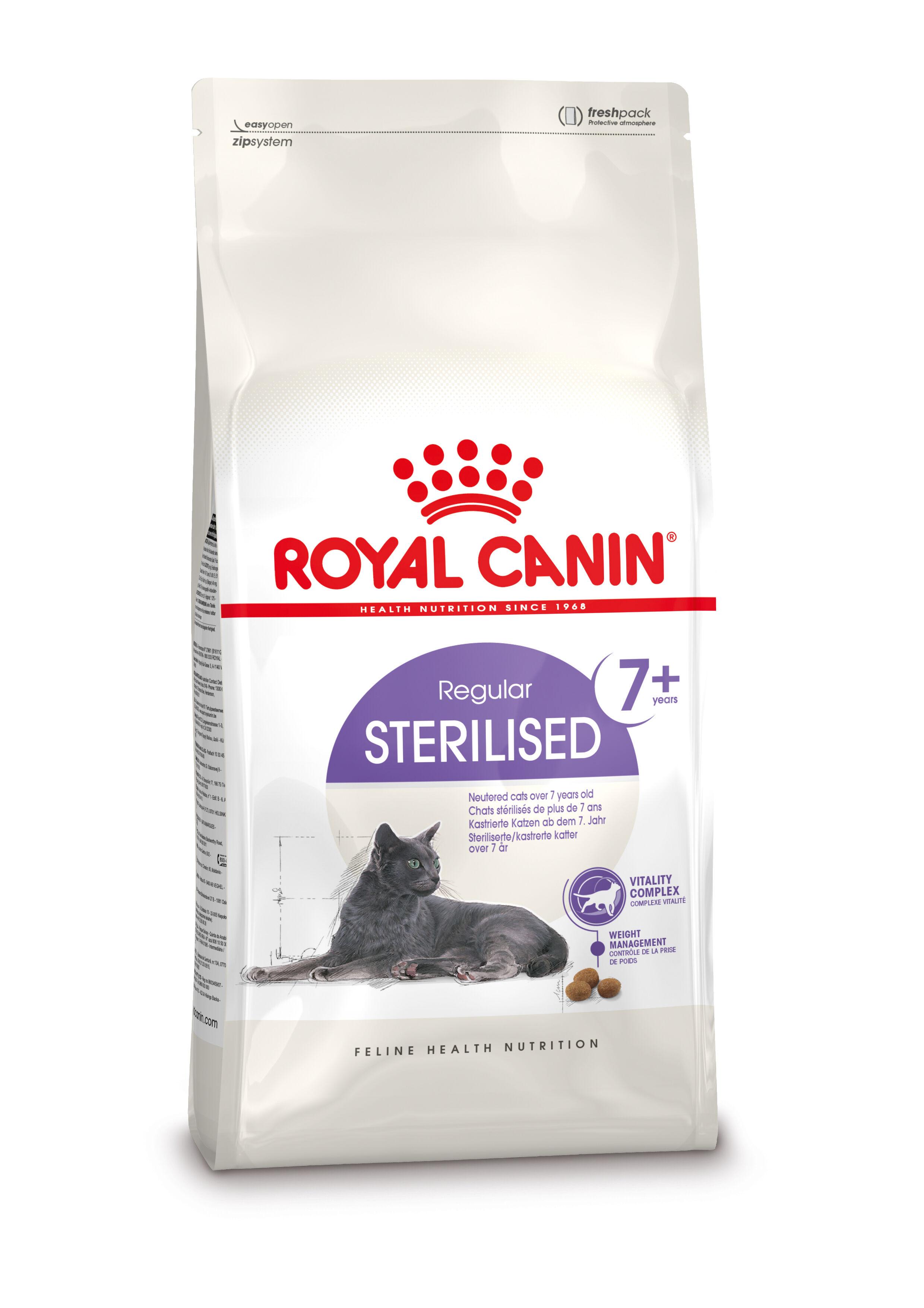 Royal Canin Chat Sterilised 7+ 2 x 3,5 kg
