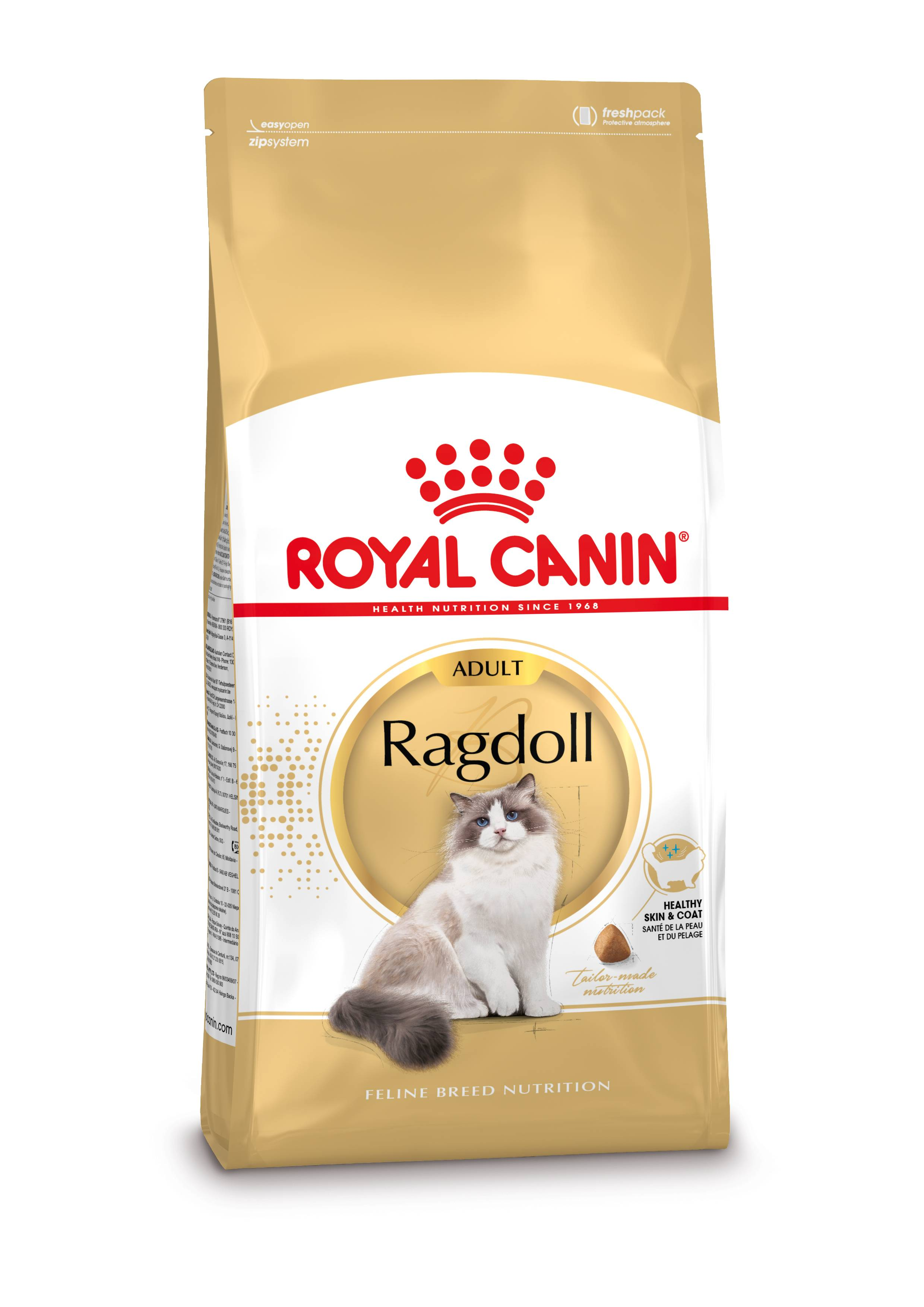 Royal Canin Breed Royal Canin Ragdoll pour chat 2 kg