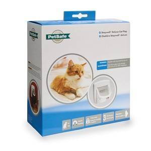 Petsafe Chatière magnétique Staywell 400 Blanc