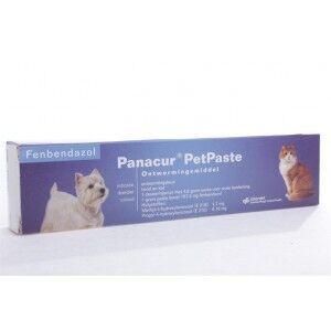 Panacur PetPaste Pâte vermifuge pour chien et chat Par 2 unités
