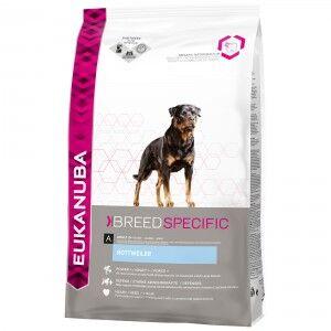 Eukanuba Breed Specific Rottweiler pour chien 12 kg