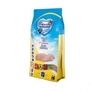 Renske Super Premium Adult Sans Céréales Poulet Frais pour chien 2 x 2 kg