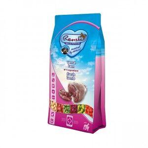 Renske Super Premium Adult Sans Céréales Agneau Frais pour chien 12 kg