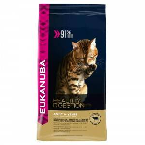 Eukanuba Healthy Digestion pour chat 2 x 4 kg