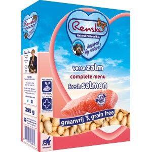 Renske Sans Céréales Saumon pour chien 1 lot (10 x 395 g)