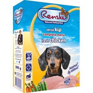 Renske Poulet Frais & Riz pour chien 1 lot (10 x 395 g)