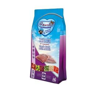 Renske Super Premium Adult Canard & Lapin Frais pour chien 2 kg