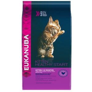Eukanuba Kitten Healthy Start pour chaton 2 x 4 kg