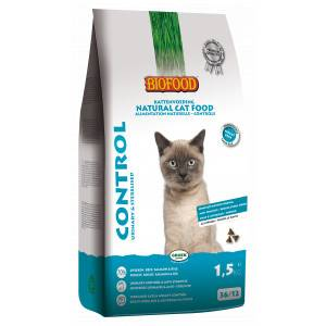Biofood Control Urinary & Sterilised pour chat 2 x 1,5 kg