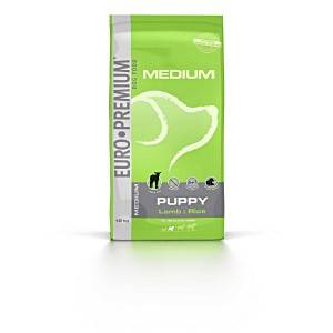 Euro Premium Medium Puppy agneau riz pour chiot 3 kg