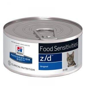 Hill's Prescription Diet Hill's Prescription Z/D Food Sensitivities pâtée pour chat 156 g 2 x 24 boites (156g)