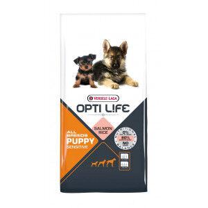 Opti Life Chiot Puppy Digestion Sensible Toutes Races 2 x 12,5 kg
